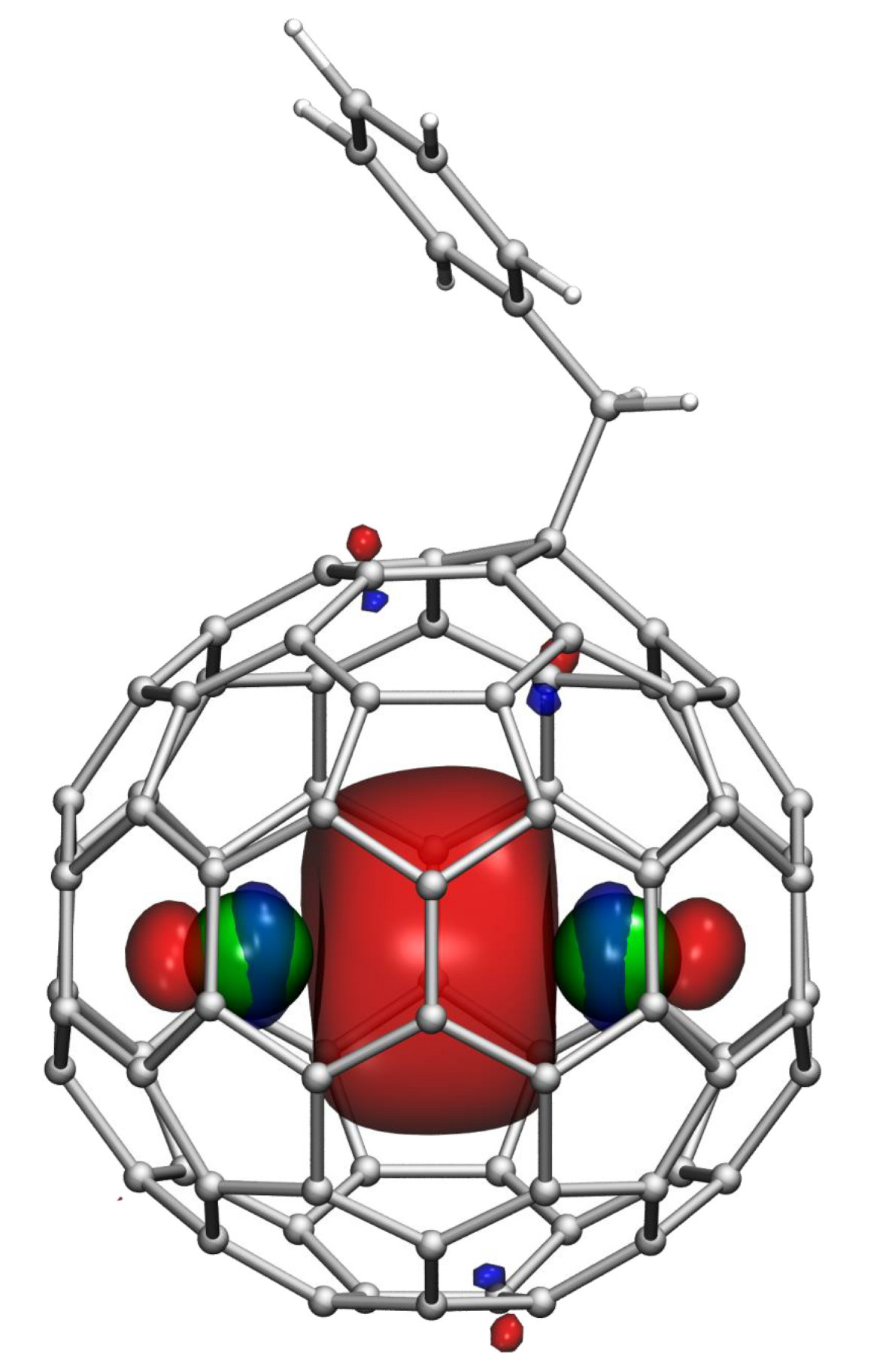 Fullerene with Lanthanide atoms