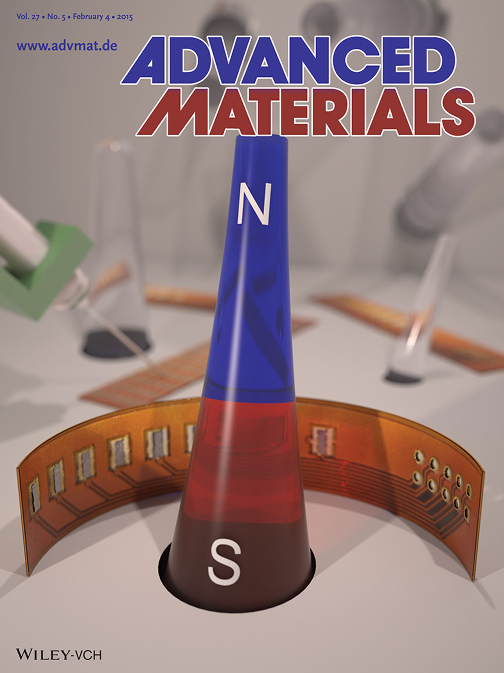High-performance magnetic sensorics for printable and flexible electronics