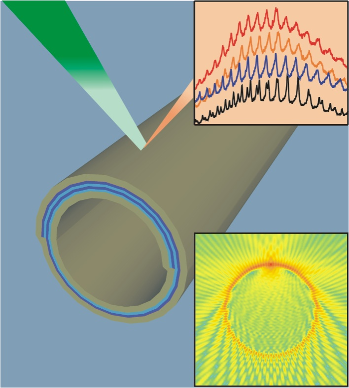 Tubular optofluidic sensors for enhanced refractive index sensing