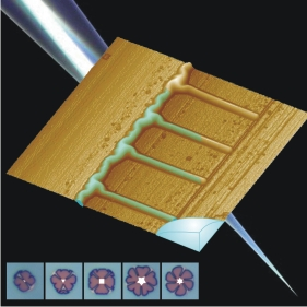 Nanochannel arrays by deterministic layer wrinkling